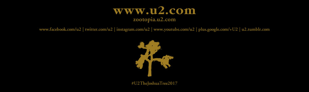 Ciudad de México 3 October #U2TheJoshuaTree2017 Live Thread Footer