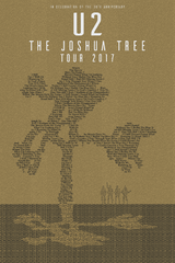 U2: The Joshua Tree Tour 2017 - Image Text Assignment
