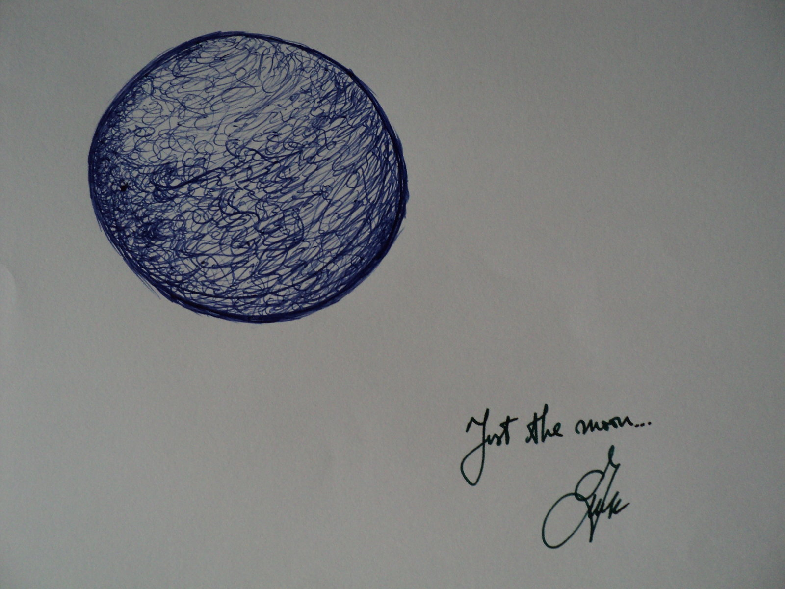 _Just the Moon