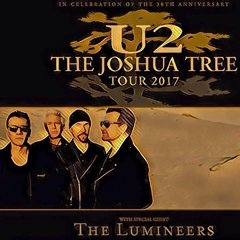 The Joshua Tree Tour 2017 - BARCELONA