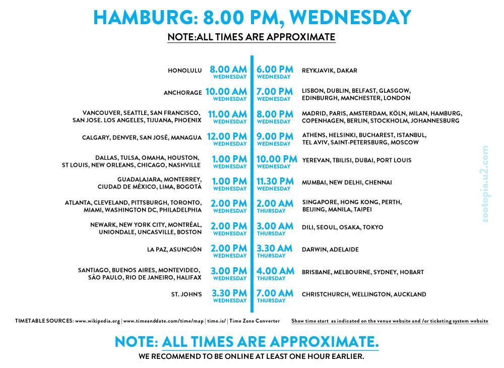 Hamburg Live Thread U2eitour Barclaycard Arena Hamburg De