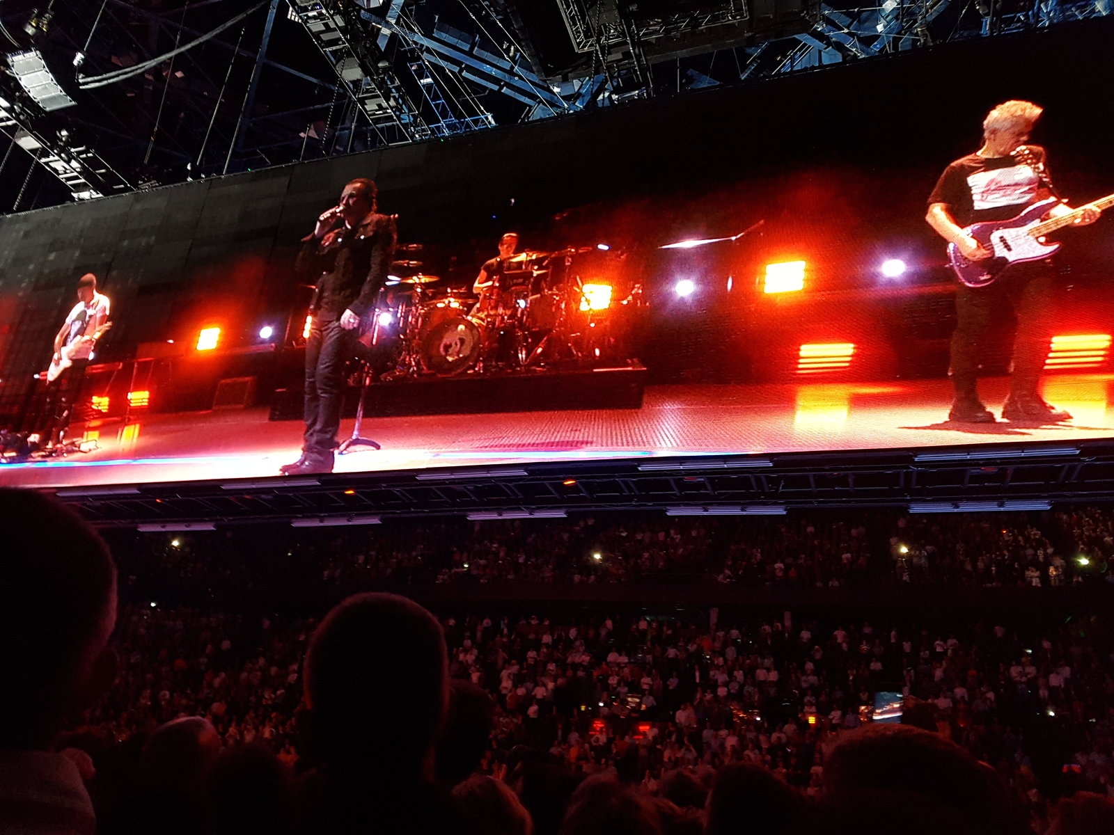 U2 EI Tour Paris#3 12th Sept 2018