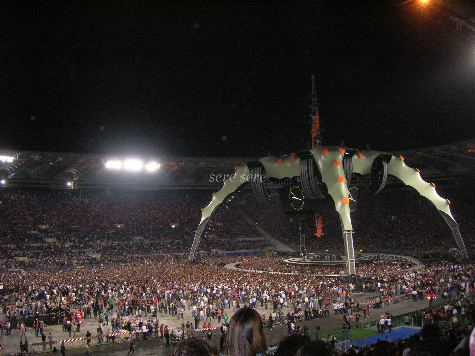 Waitin' for U2 live in Rome 360 Tour