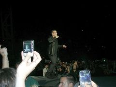 Bono in Amsterdam July 21,2009