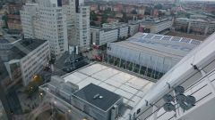 On the top of Globen
