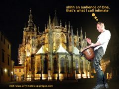 Larry At St Vitus Cathedral