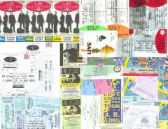 U2 ticket stubs pt 2