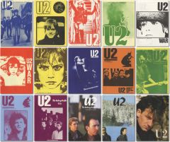 U2 Info Service Magazine Covers