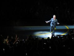 "Bono getting a little funky on ""Mysterious Ways"""