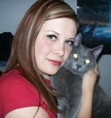 "Me and my kitty ""Che"""