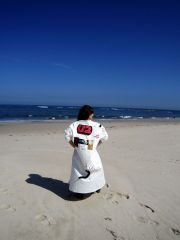 The labcoat at the beach