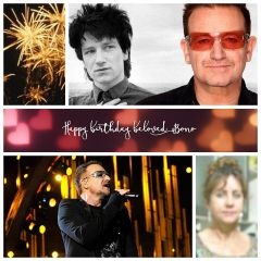 Happy Birthday  Bono !
