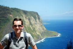 Me at Waipio Valley, HI