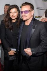 Bono and Ali at Motown The Musical