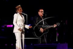 Bono and Mary J Blige