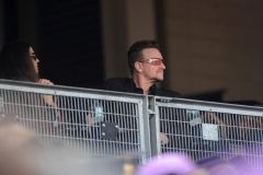 Bono and Ali at Eve´s gradutian