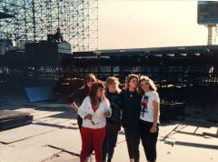 Load in Joshua Tree Tour 1987 - Arizona State University