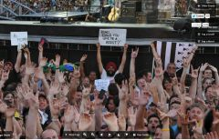 U2 360 fancam Guy with turban