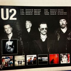U2 Display at HMV Montreal