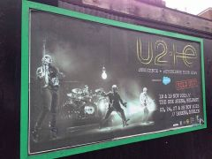Ad for Dublin and Belfast Gigs (2015)  taken by my good friend in Dublin-JG