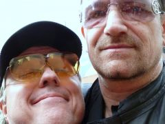 Bono and Yours Truly at Denver Meet&Greet + Look'n for More Pics