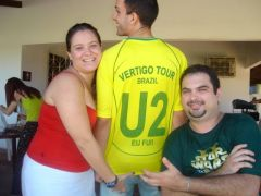 U2 FORTALEZA shirt for the 2006 world cup