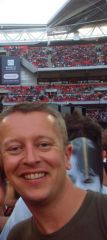 Me at Wembley last year!