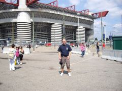 Me at the San Siro Milan 7/8th July 2009 U2.