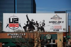 U2 360 Tour Billboard - Denver
