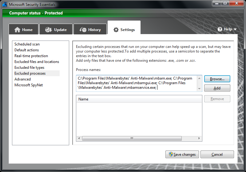 malwarebytes free xp
