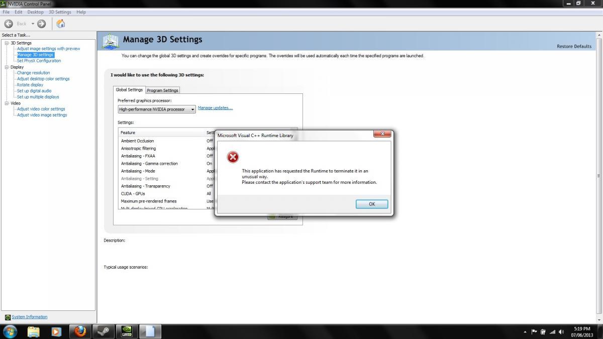 Geforce driver issue - General Windows PC Help