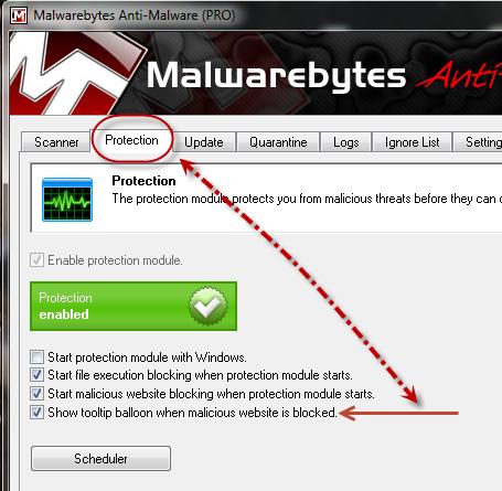 Program and website blocked, how to unblock? - Malwarebytes