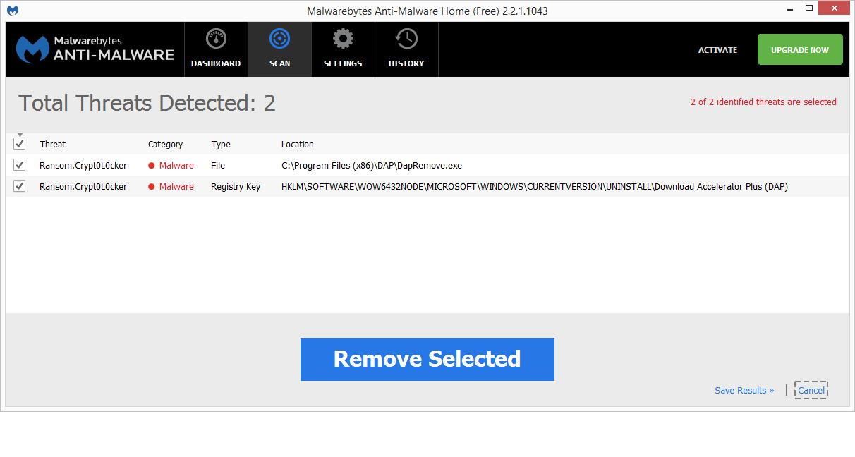 Download Accelerator Plus (DAP) - File Detections