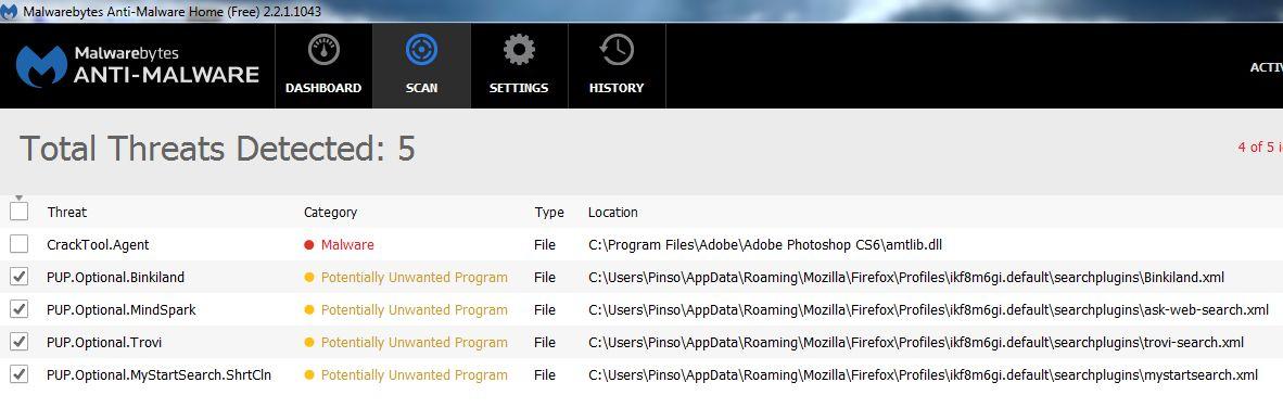 Desktoplayer exe and userinit exe Malware ! - Resolved