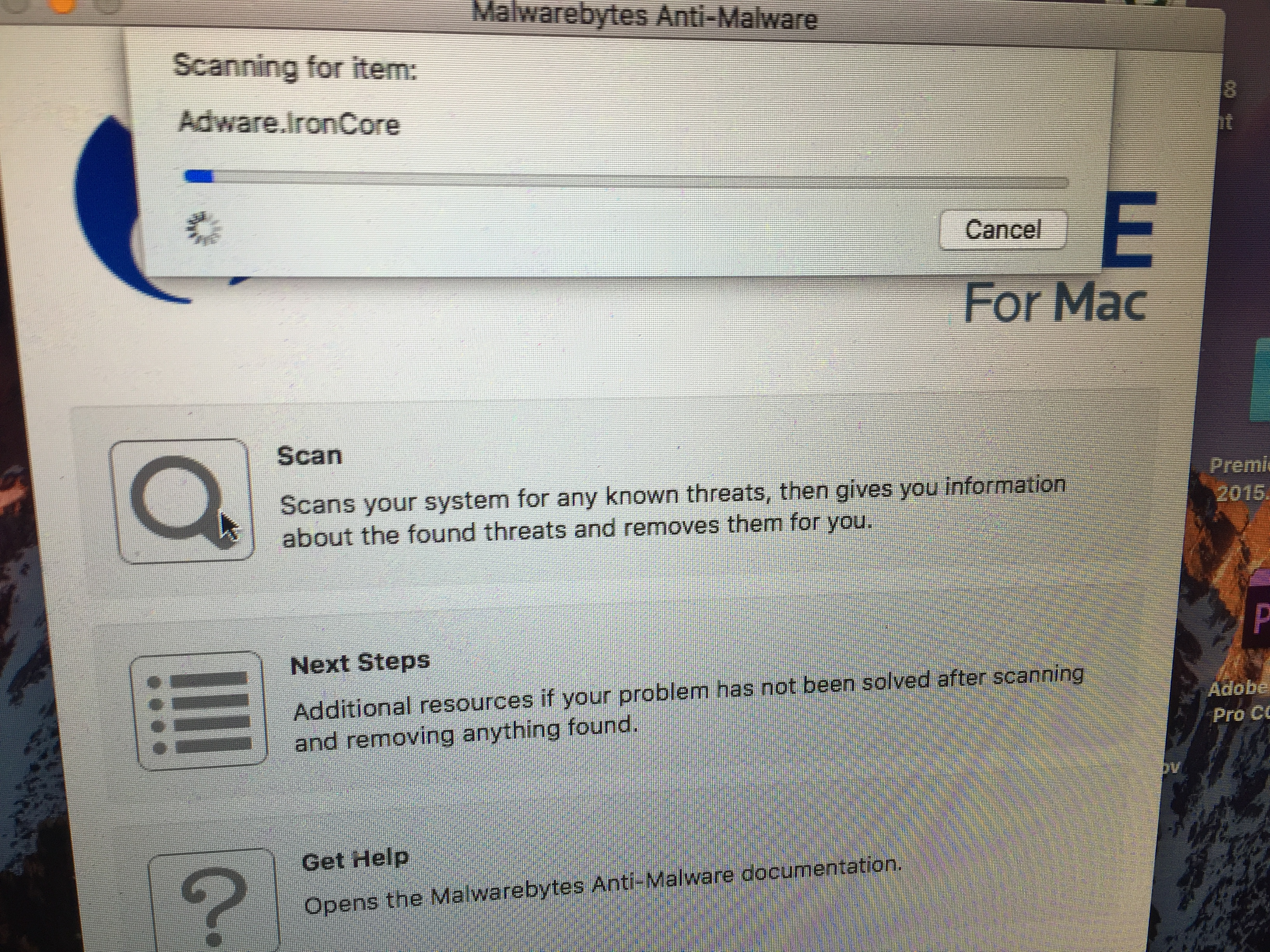 Help! Malwarebytes not working - Mac Malware Removal Help