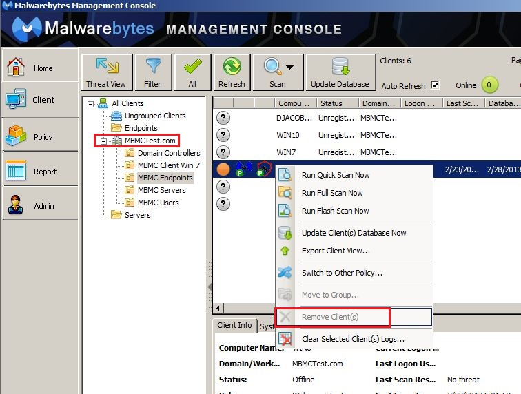 what is the latest version of malwarebytes management console