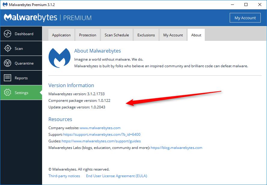 database updates and version info malwarebytes 3 support forum rh forums malwarebytes com malwarebytes anti-malware update manually malwarebytes update manual download