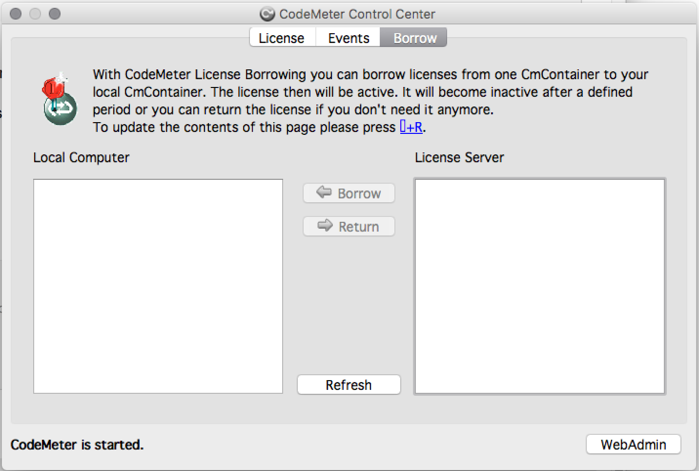 New app found on my Mac - Code Meter Control Center - Mac
