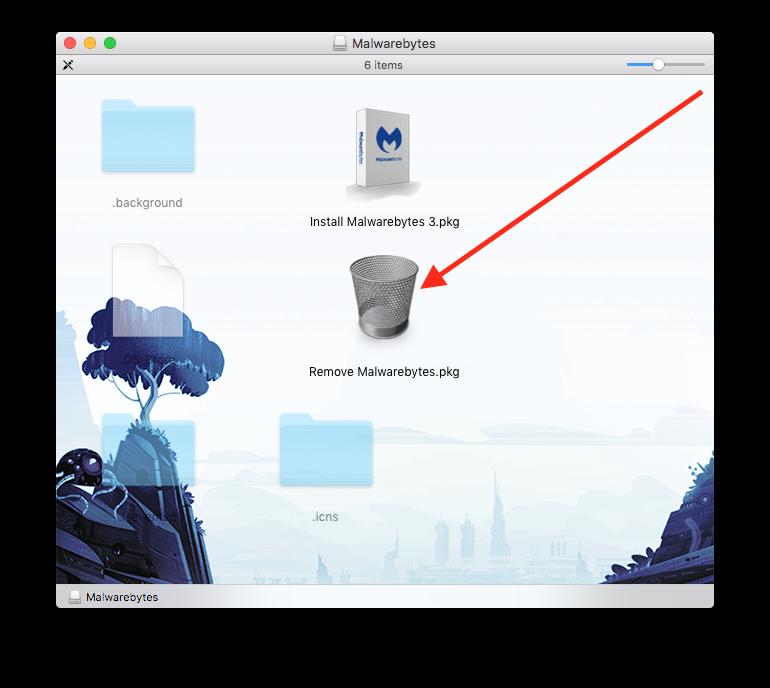 remove malwarebytes from macbook pro