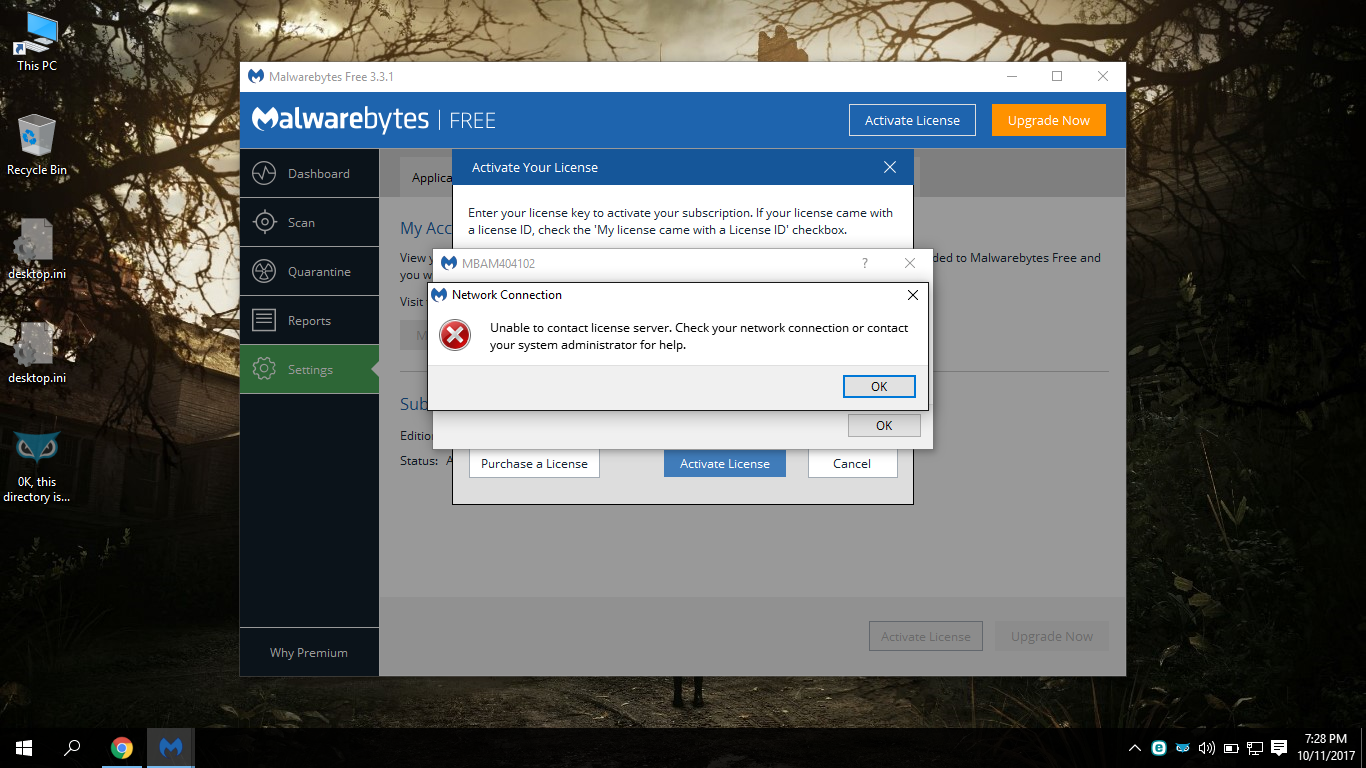 malwarebytes activate license free 2017
