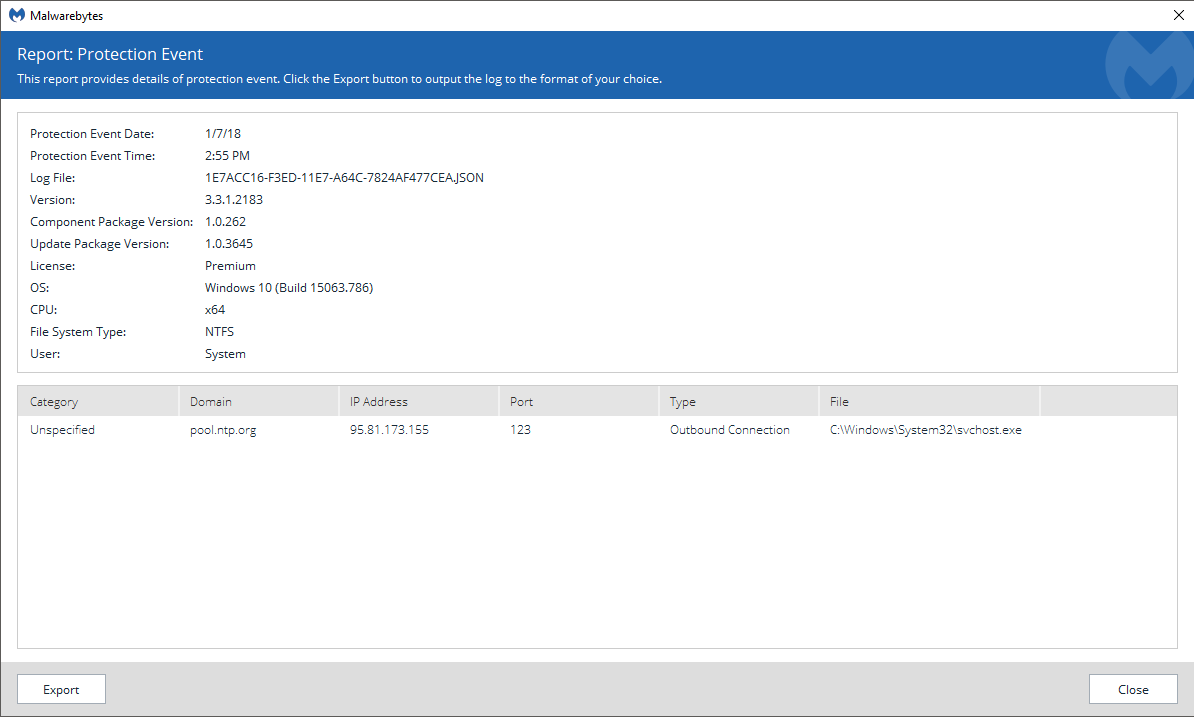 pool ntp org - Website Blocking - Malwarebytes Forums