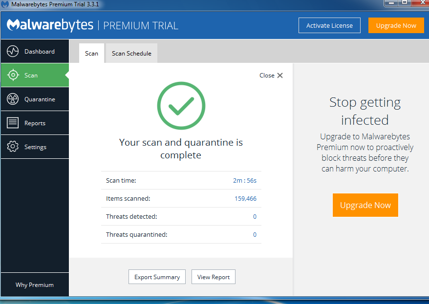 Malwarebytes Not Detecting Malware/Adware - Resolved Malware Removal