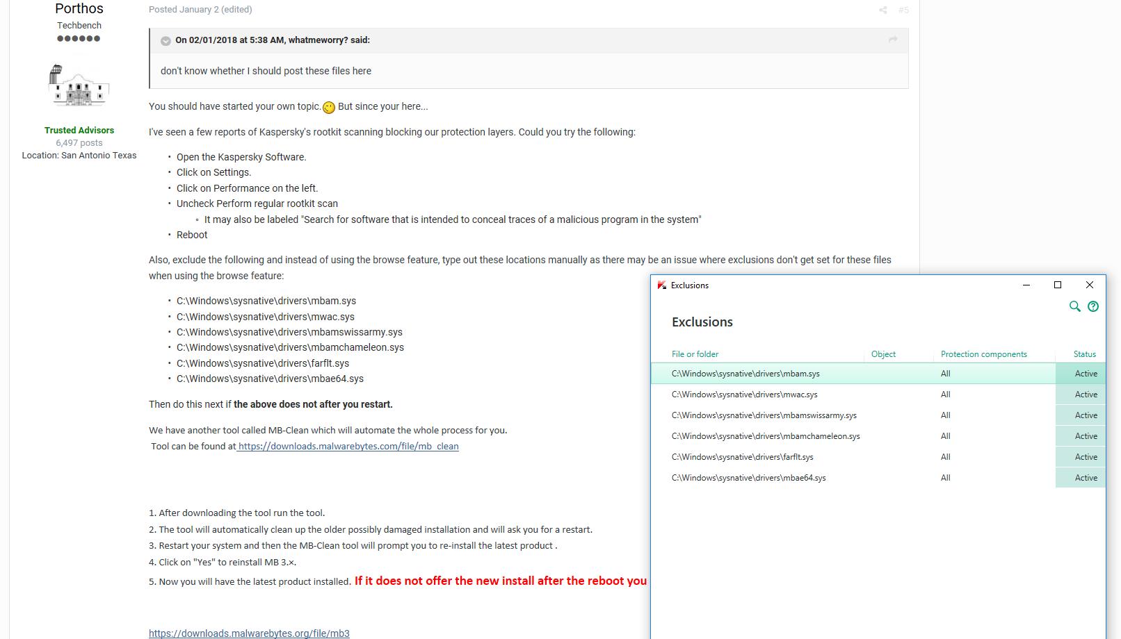 malwarebytes turn off real time protection notification