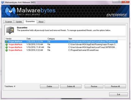 Trojan Malpack - Resolved Malware Removal Logs - Malwarebytes Forums