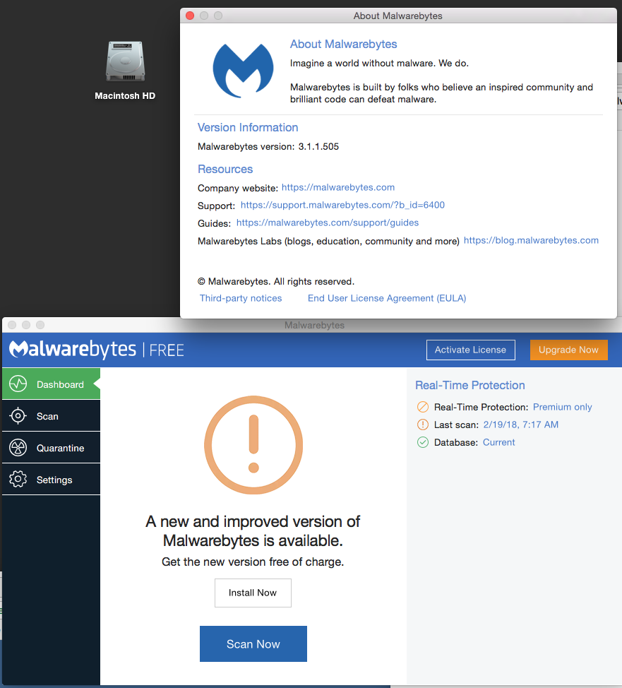 Cannot download Malwarebytes update - Malwarebytes for Mac Support