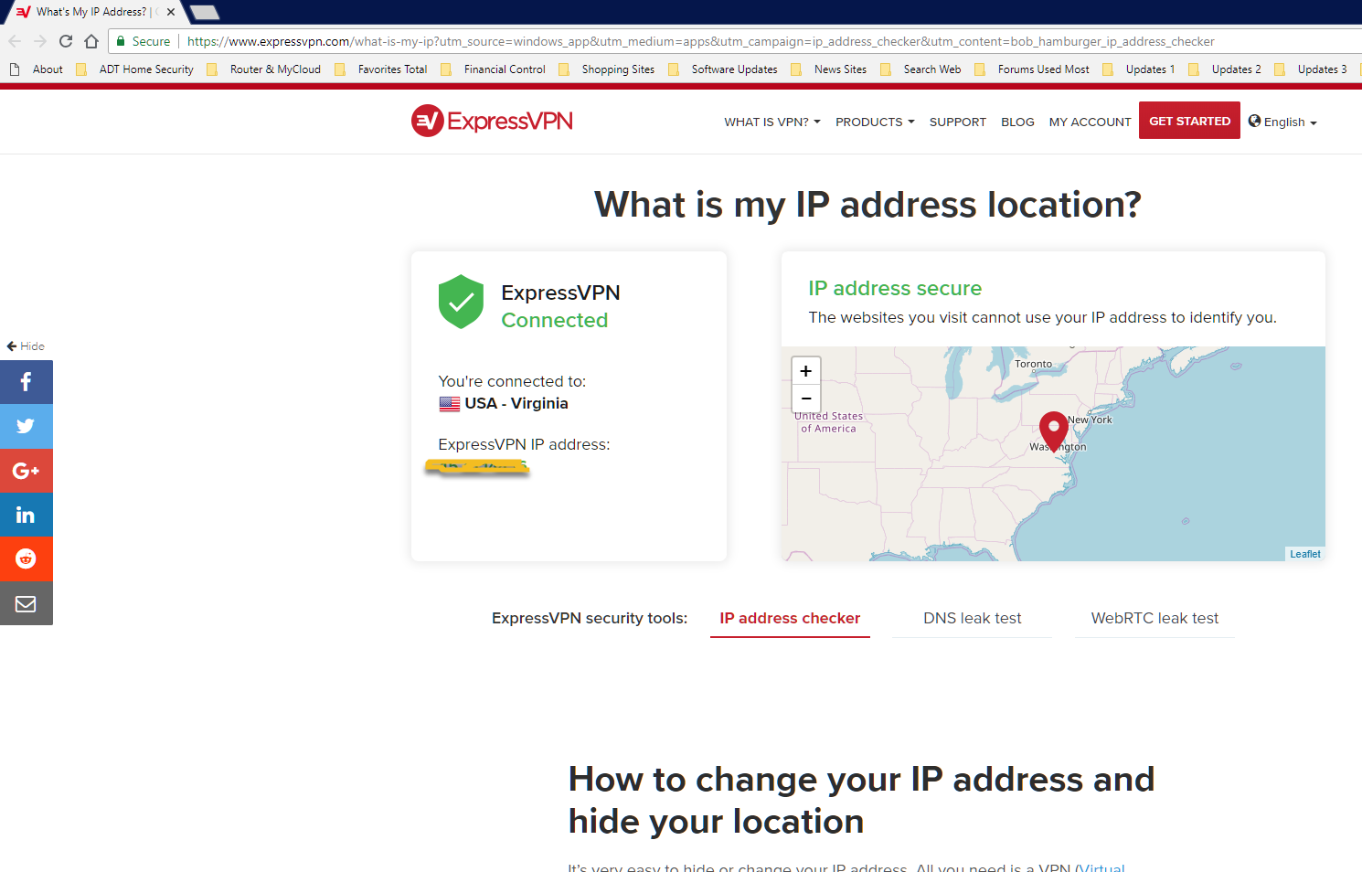 Prevents https://www expressvpn com from properly displaying
