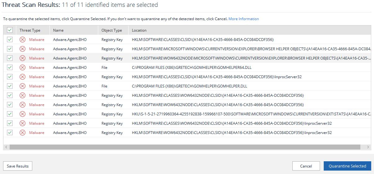 False Positive Adware.Agent.BHO - File Detections - Malwarebytes Forums