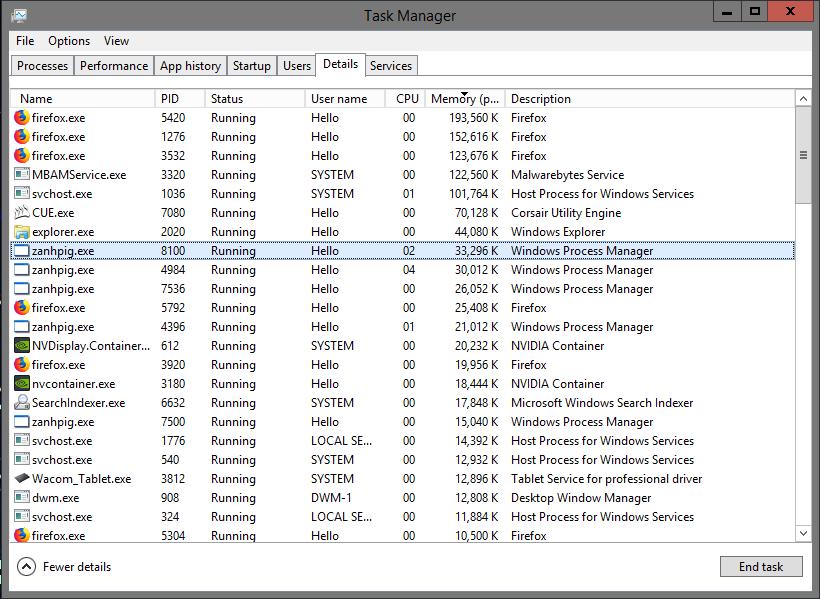 Windows Process Manager 32 Bit Virus Resolved Malware Removal Logs Malwarebytes Forums
