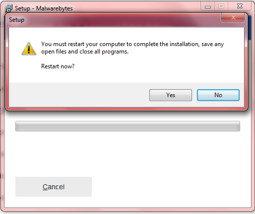 Malwarebytes sudden disappearance - Resolved Malware Removal