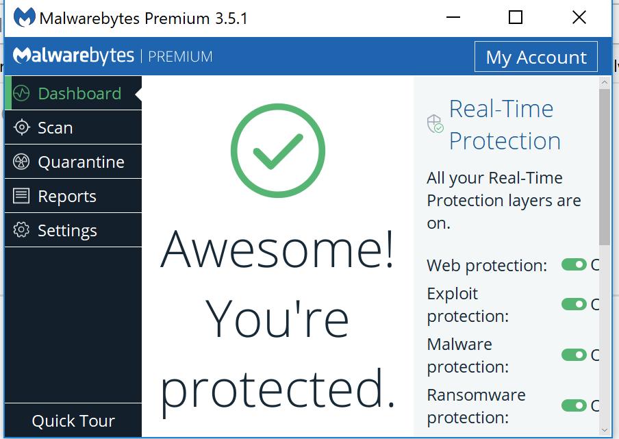 Malwarebytes scaling Issues - Malwarebytes 3 Support Forum